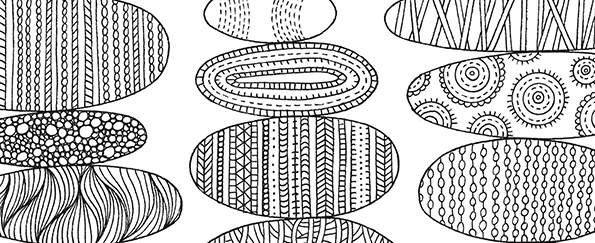 Peace and Calm Colouring Free Pattern Download