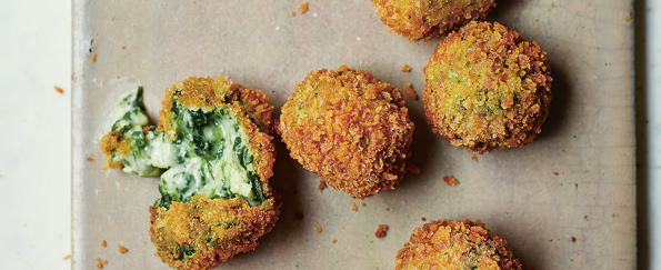 Jose Pizarro: Spinach and Goat's Cheese Croquetas Recipe
