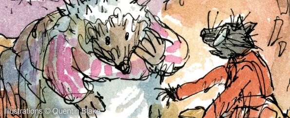 Read an Extract from The Tale of Kitty-In-Boots by Beatrix Potter and Quentin Blake