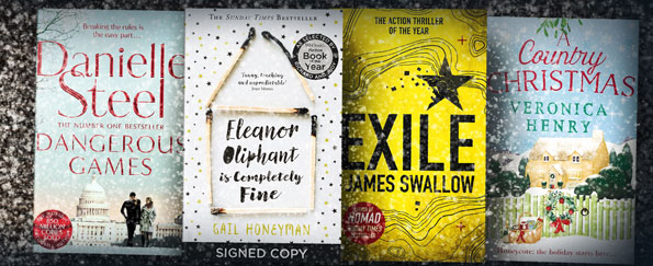 Fiction Books We're Loving this Month: December