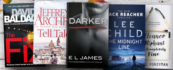 Fiction Books We're Loving this Month: November