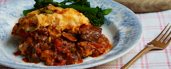 Candice Brown: Chunky Shepherd's Pie Recipe
