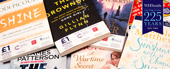 WHSmith 225th Anniversary Charity Books: Exclusive Short Stories by Best-Selling Authors