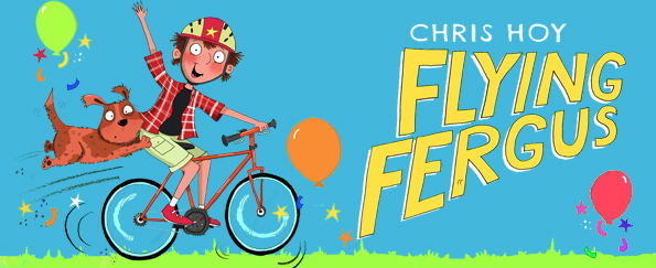 Competition! Win a Free Chris Hoy Children's Bike to Celebrate the New Flying Fergus Series