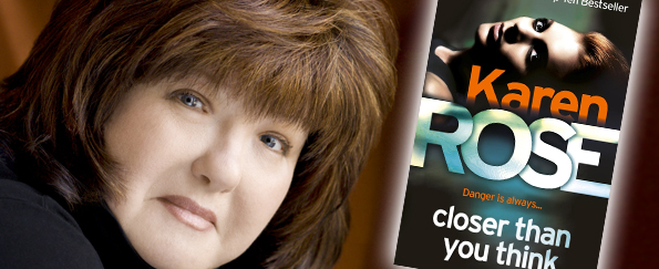 Competition! Meet Karen Rose in London