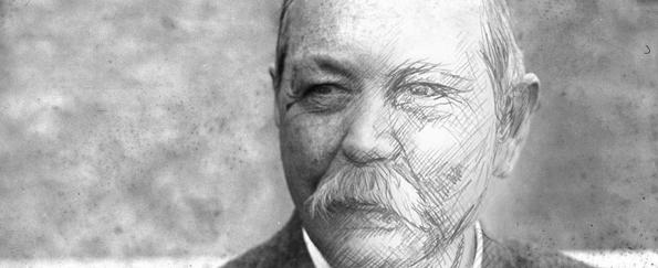 Your Sir Arthur Conan Doyle Live Sketches #SketchOff #MakeAStartInArt