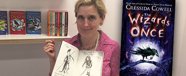 Exclusive Video! Cressida Cowell Introduces The Wizards of Once