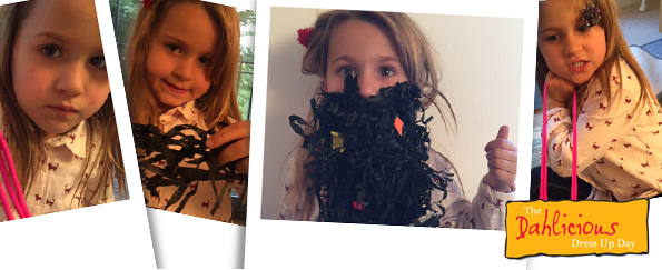 How to Create Mr Twit's Beard for Dahlicious Dress Up Day