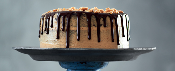 Nicola Millbank: Death by Chocolate and Peanut Butter Brownie Cake Recipe