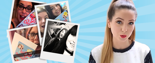 Our Favourite Zoella Zelfies