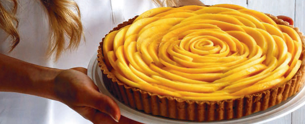 The Foodie Teen: Mango Lime Tart Recipe
