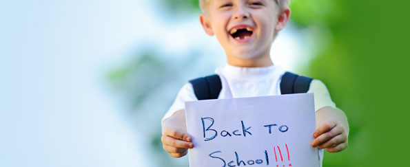 Getting Kids Excited to go Back to School