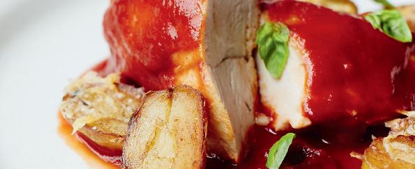 Gino D'Acampo: Chicken Breasts in Marsala & Tomato Sauce with Raisins Recipe