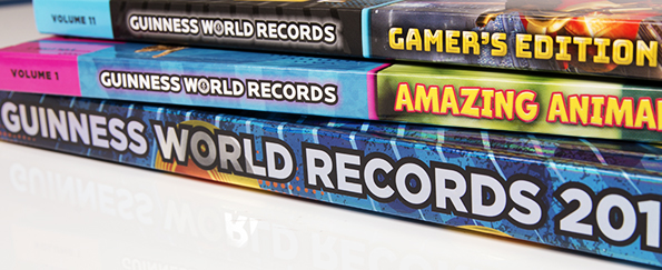 The Guinness World Records™ 2018 Collection: Take a Sneak Peek Inside the Books