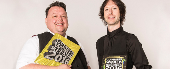 Guinness World Records™: An Exclusive Interview with Craig Glenday and Stephen Daultrey