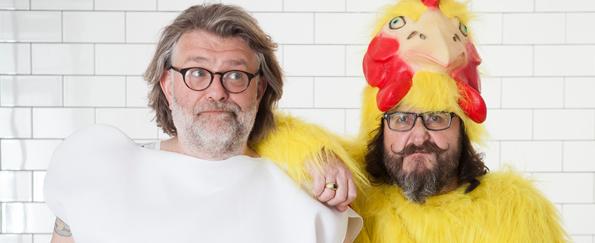 The Hairy Bikers' Chicken & Egg Vote: Mediterranean Chicken Tray Bake Recipe