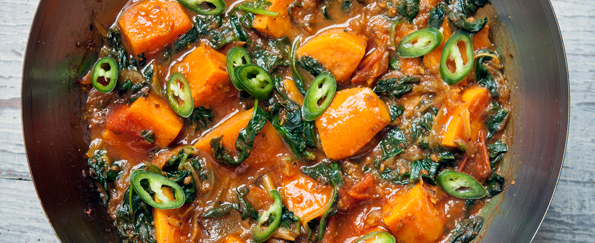 The Hairy Dieters: Sweet Potato Saag Aloo Recipe