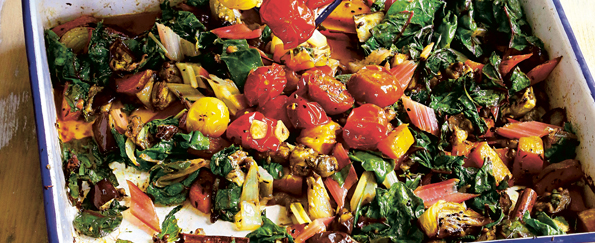 Hugh Fearnley-Whittingstall: Two-tray Spicy Roast Veg Recipe