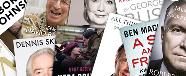 Top 10 Historical and Political Biographies 2014