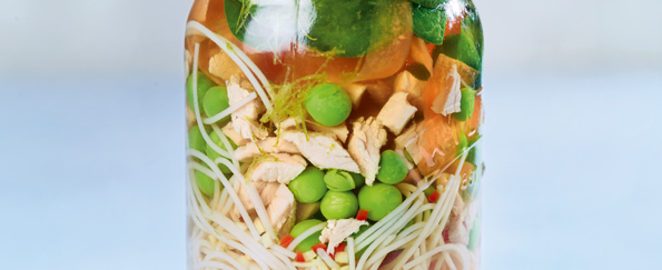 Eat Well For Less: Homemade Gammon Noodle Pot Recipe