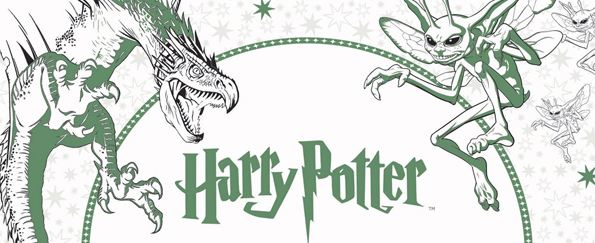 Harry Potter Magical Creatures Colouring Free Pattern Downloads