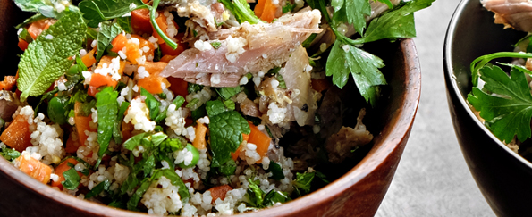 Hugh Fearnley-Whittingstall: Lamb and Mint Couscous Recipe