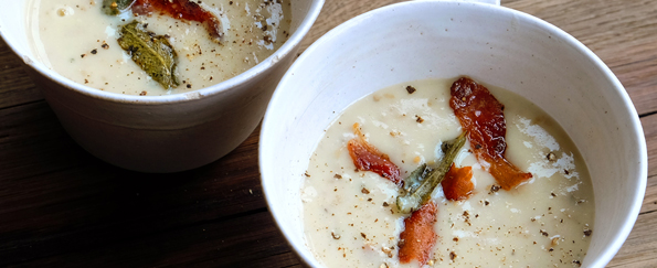 Hugh Fearnley-Whittingstall: Potato Peel Soup Recipe