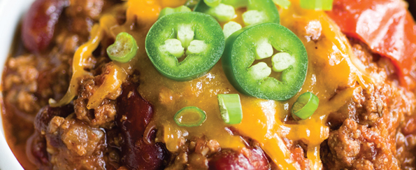 Jackie Collins: Lucky's Kick-Ass Chili Recipe