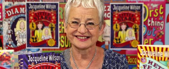 Jacqueline Wilson Introduces Her New Book Little Stars