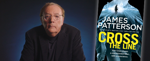 Exclusive Video! James Patterson Discusses Cross the Line and the Alex Cross Series