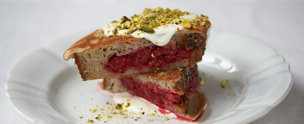 Jamie Oliver: Berry Pocket Eggy Bread Recipe
