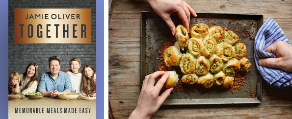 Jamie Oliver: Scrumptious Garlic Bread, Parsley, Lemon & Cream Cheese Recipe