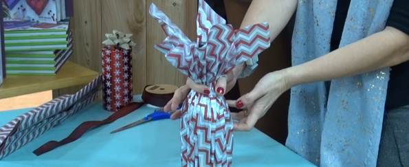 Jane Means: How to Wrap a Bottle
