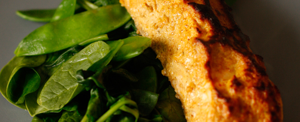 Joe Wicks: Tandoori Salmon Recipe
