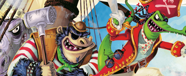 John Kelly: My Top 10 Children's Pirate Books
