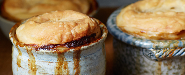 John Whaite: Chicken, Leek and Cider Mug Pot Pies Recipe