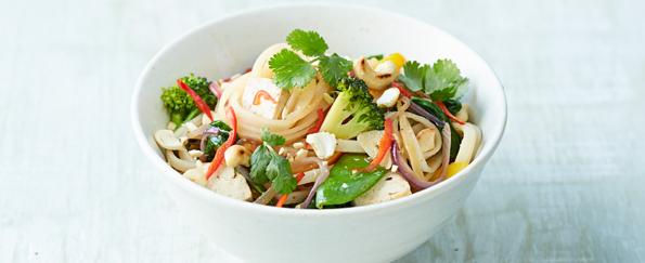Jamie Oliver: Veggie Noodle Stir-Fry Recipe
