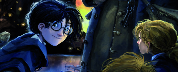 Artist Jonny Duddle Discusses Re-creating Harry Potter