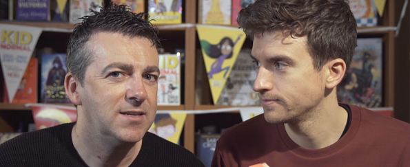 Exclusive Video! Greg James and Chris Smith Read an Extract from Kid Normal and the Rogue Heroes