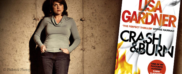 Lisa Gardner on Researching for Crash & Burn