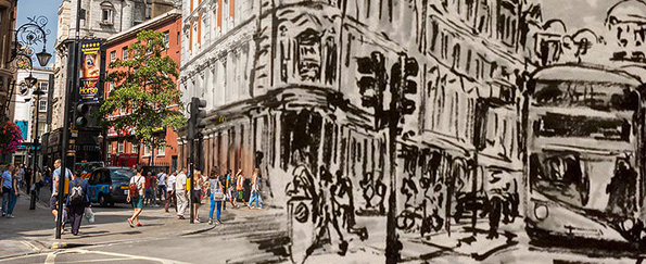 Your London Cityscape Live Sketches #SketchOff #MakeAStartInArt