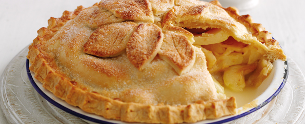 Mary Berry: Double-Crust Apple Pie Recipe