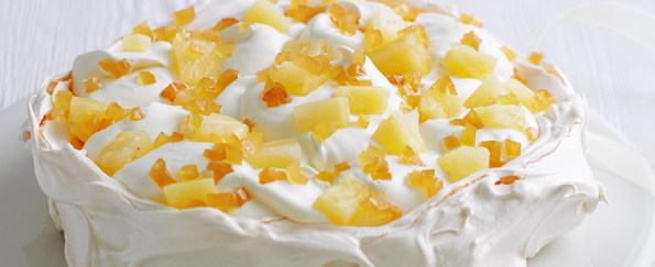 Mary Berry: Pineapple and Ginger Pavlova Recipe