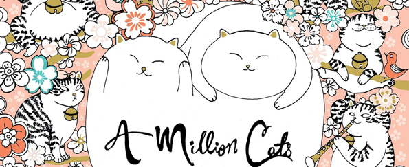 A Million Cats: Fabulous Felines to Colour Free Pattern Downloads