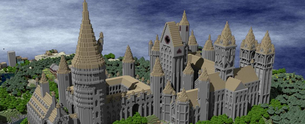 Minecraft Creations From Fantasy Books