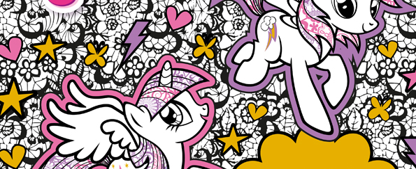 My Little Pony: Creative Colouring Book Free Pattern Download