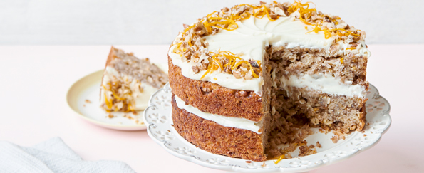 Nadiya Hussain: Parsnip and Orange Spiced Cake
