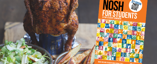 Nosh for Students: Beer Can Chicken Recipe
