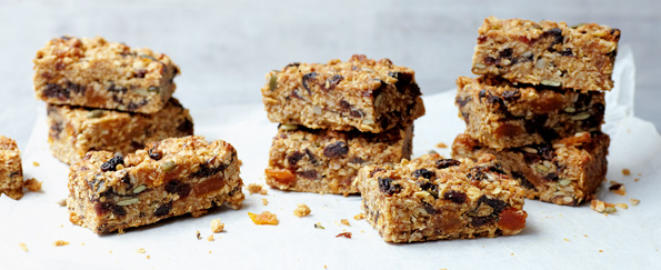 James Duigan: Nut and Seed Flapjacks Recipe