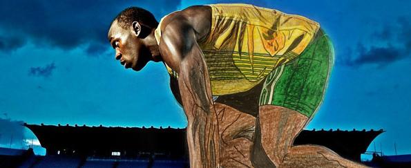 Your Usain Bolt Sketches #SketchOff #MakeAStartInArt
